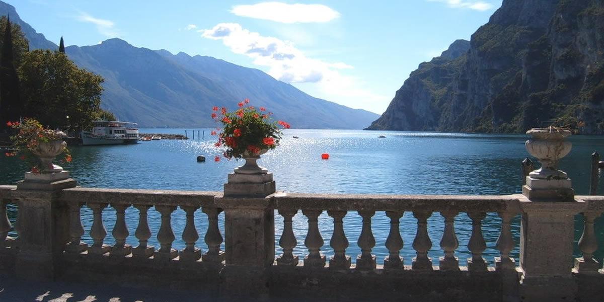 Garda lake and surroundings