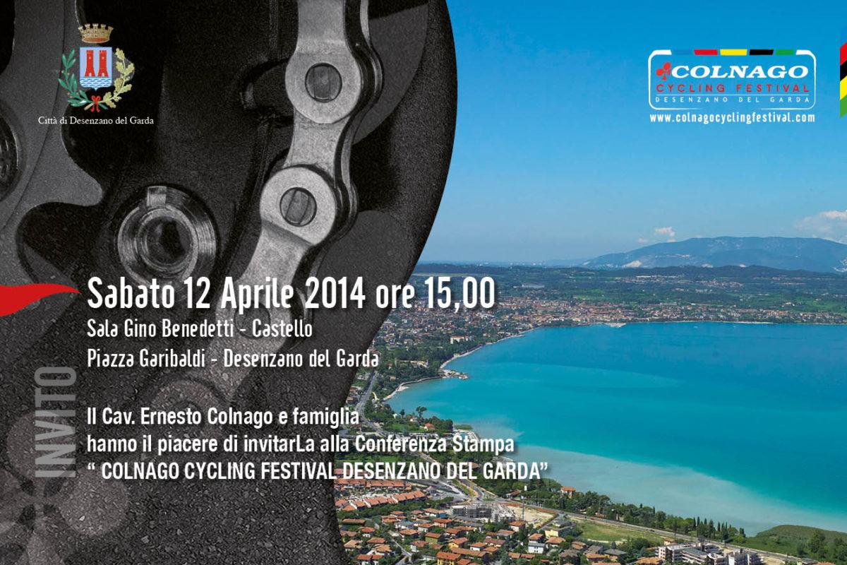 Colnago Cycling Festival: presentazione al Castello di Desenzano
