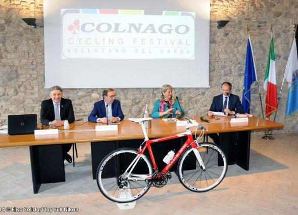 Presentato il Colnago Cycling Festival