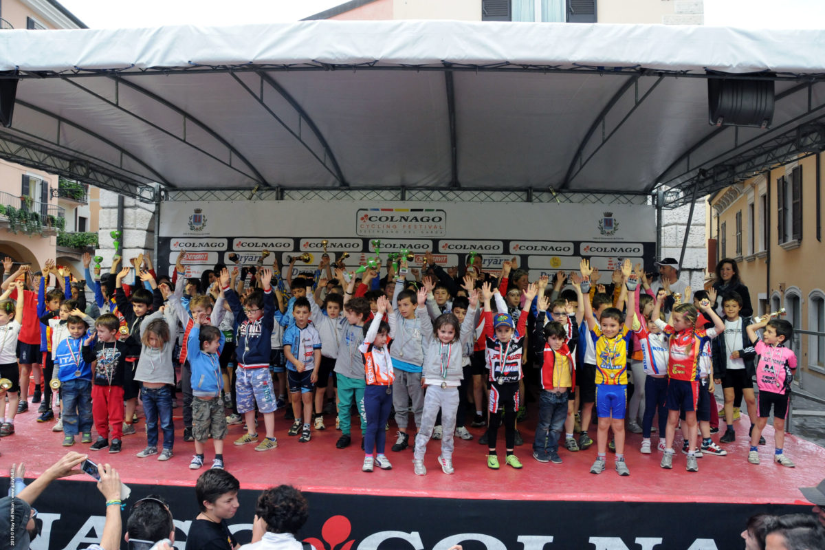 Colnago Cycling Festival: una Baby Bike internazionale