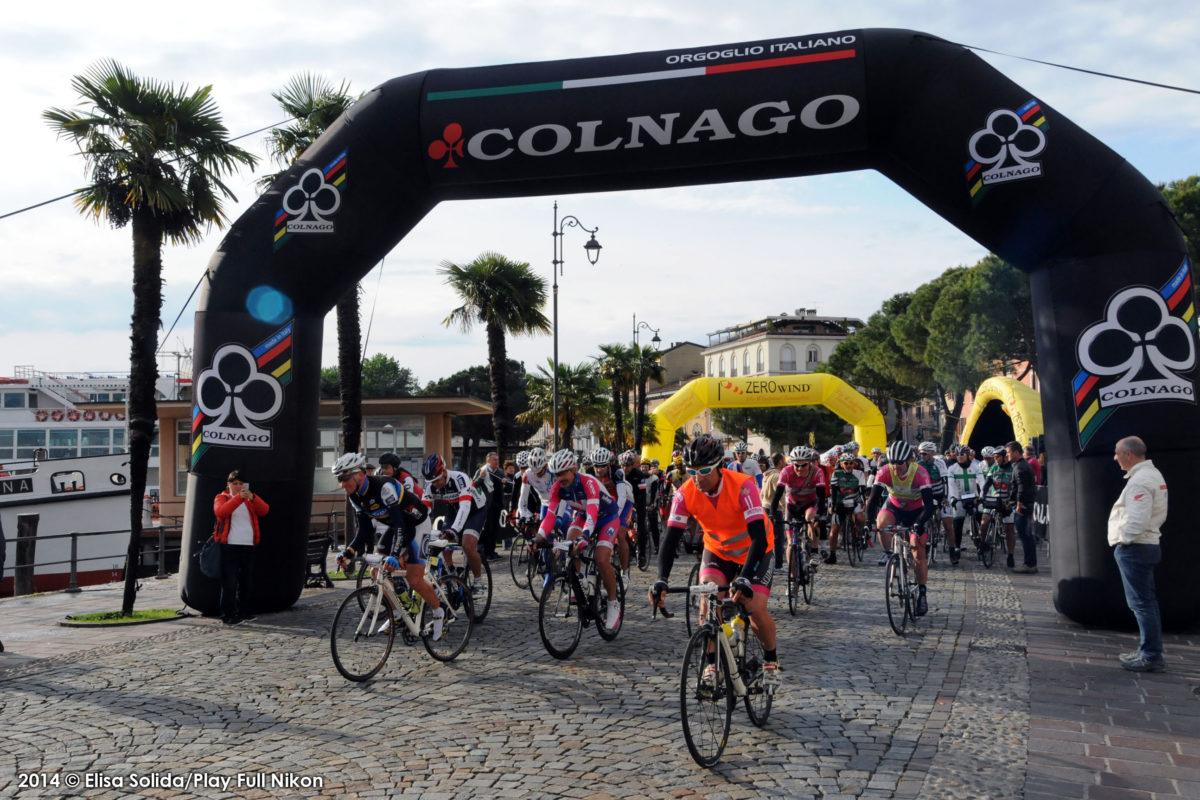 Colnago Cycling Festival: quasi 400 randagi salutano il lago di Garda