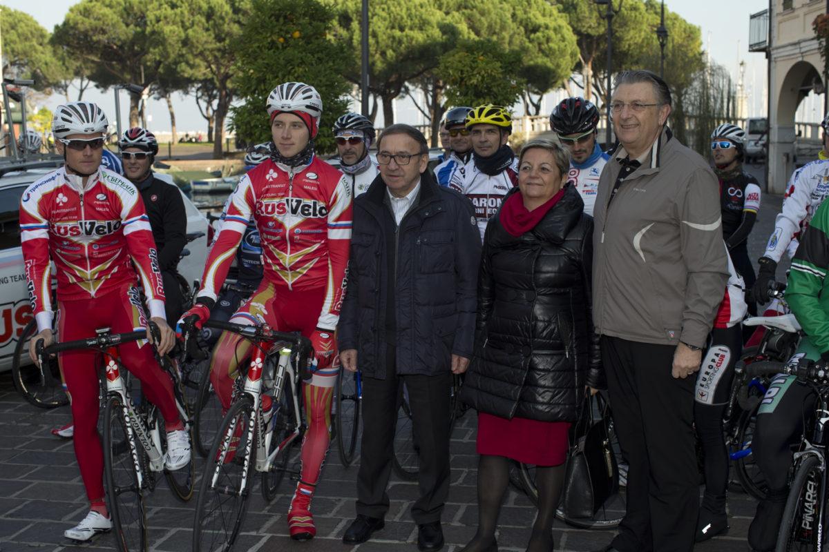 La squadra nazionale russa banco di prova del Colnago Cycling Festival