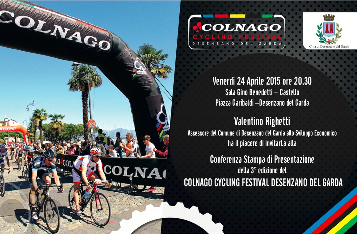 Il 24 aprile si alza il sipario sul Colnago Cycling Festival