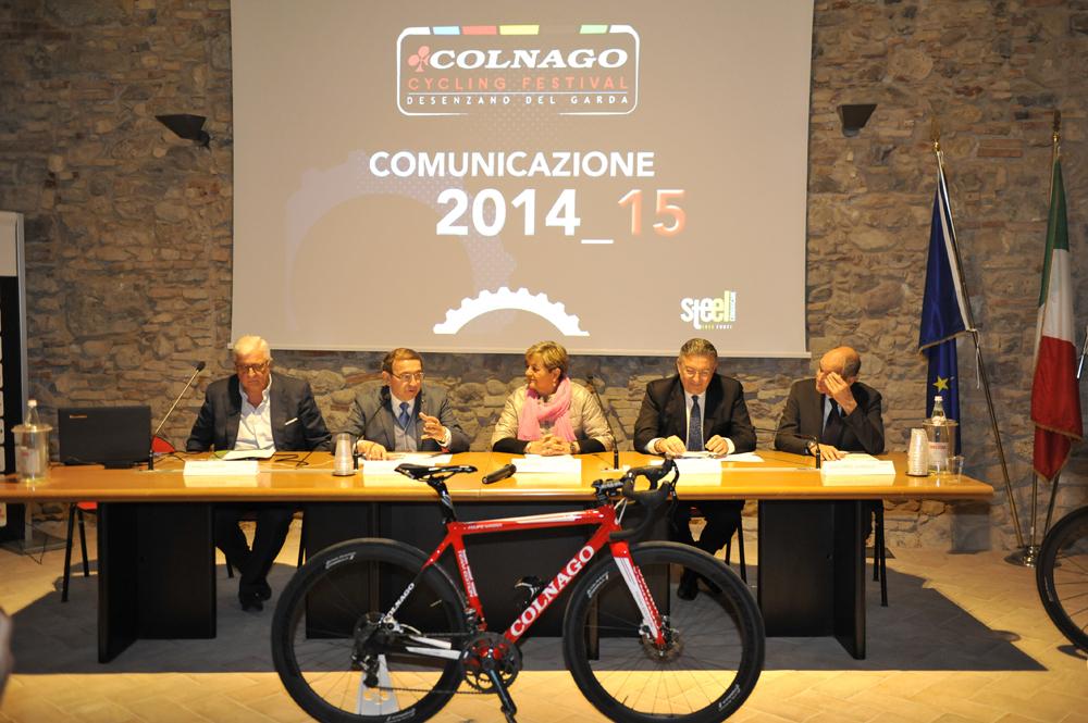 Inizia il conto alla rovescia per il Colnago Cycling Festival 2015