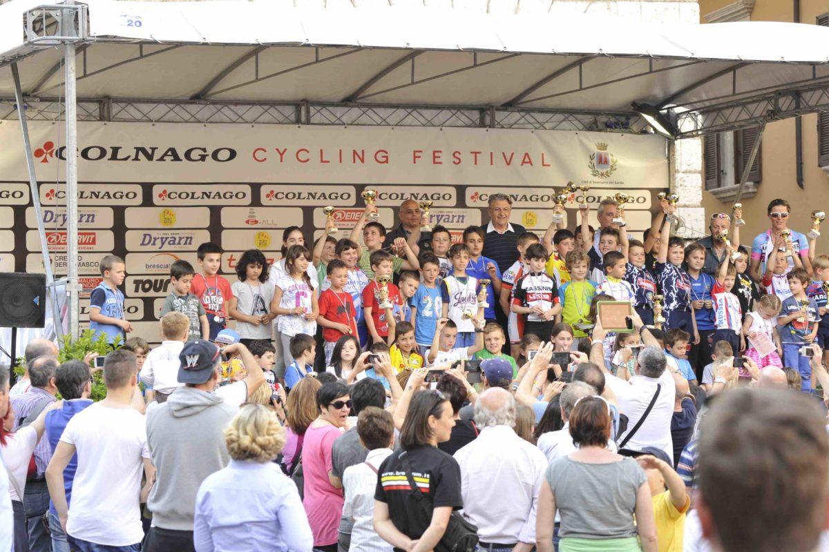 Al Colnago Cycling Festival ce n'è per tutti, dai grandi ai piccini