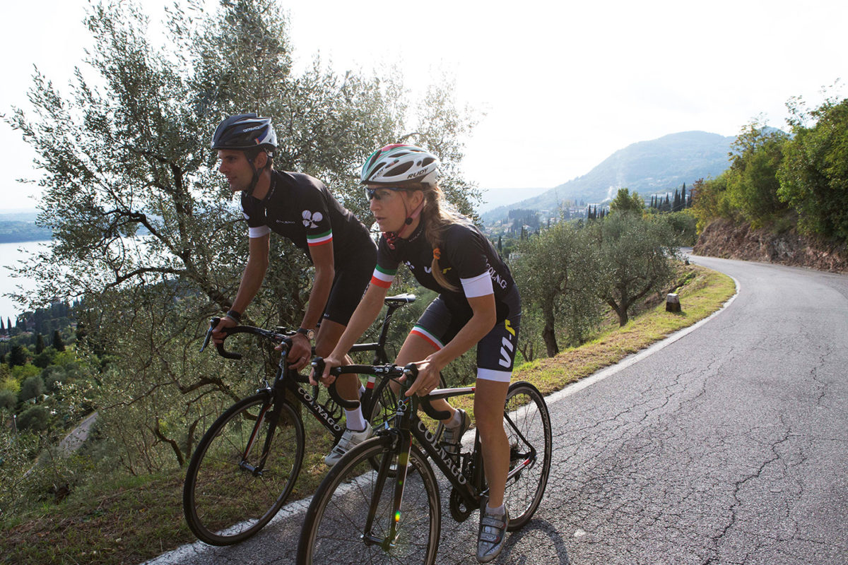 HOW TO FACE THE SAN MICHELE CLIMB