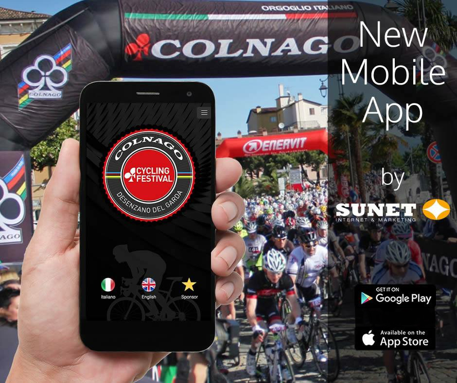 COLNAGO CYCLING FESTIVAL MOBILE APP