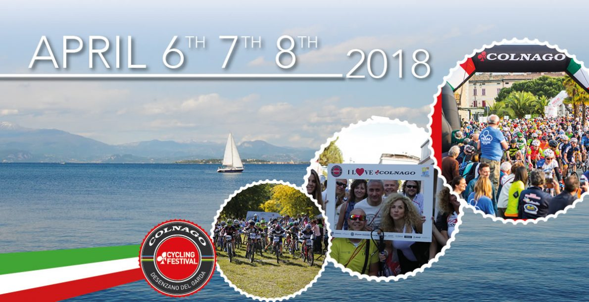 2018 COLNAGO CYCLING FESTIVAL IN APRIL