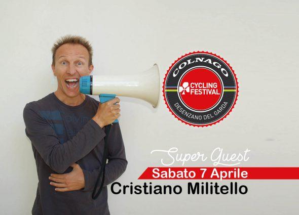 CRISTIANO MILITELLO  AL COLNAGO CYCLING FESTIVAL