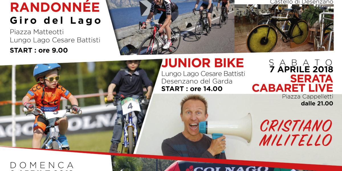 COLNAGO CYCLING FESTIVAL 2018:  UN EVENTO  SEMPRE PIU' FESTIVAL