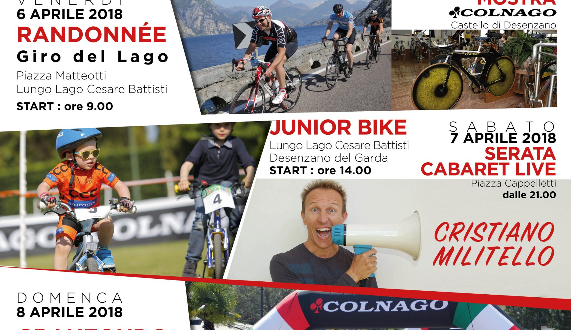 COLNAGO CYCLING FESTIVAL 2018: A PARTY FOR EVERYBODY