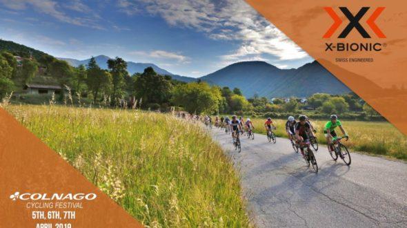 X-BIONIC®TECHNICAL PARTNEROF COLNAGO CYCLING FESTIVAL