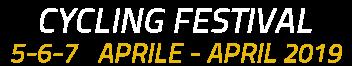 Colnago Cycling Festival dal 5-6-7 Aprile/April 2019