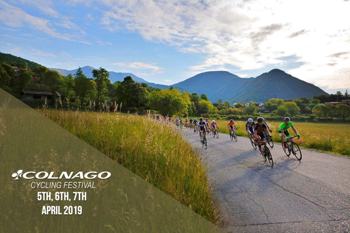 Colnago CF 2019– Pochi giorni all'eventocicloturistico più atteso del Lago di Garda!