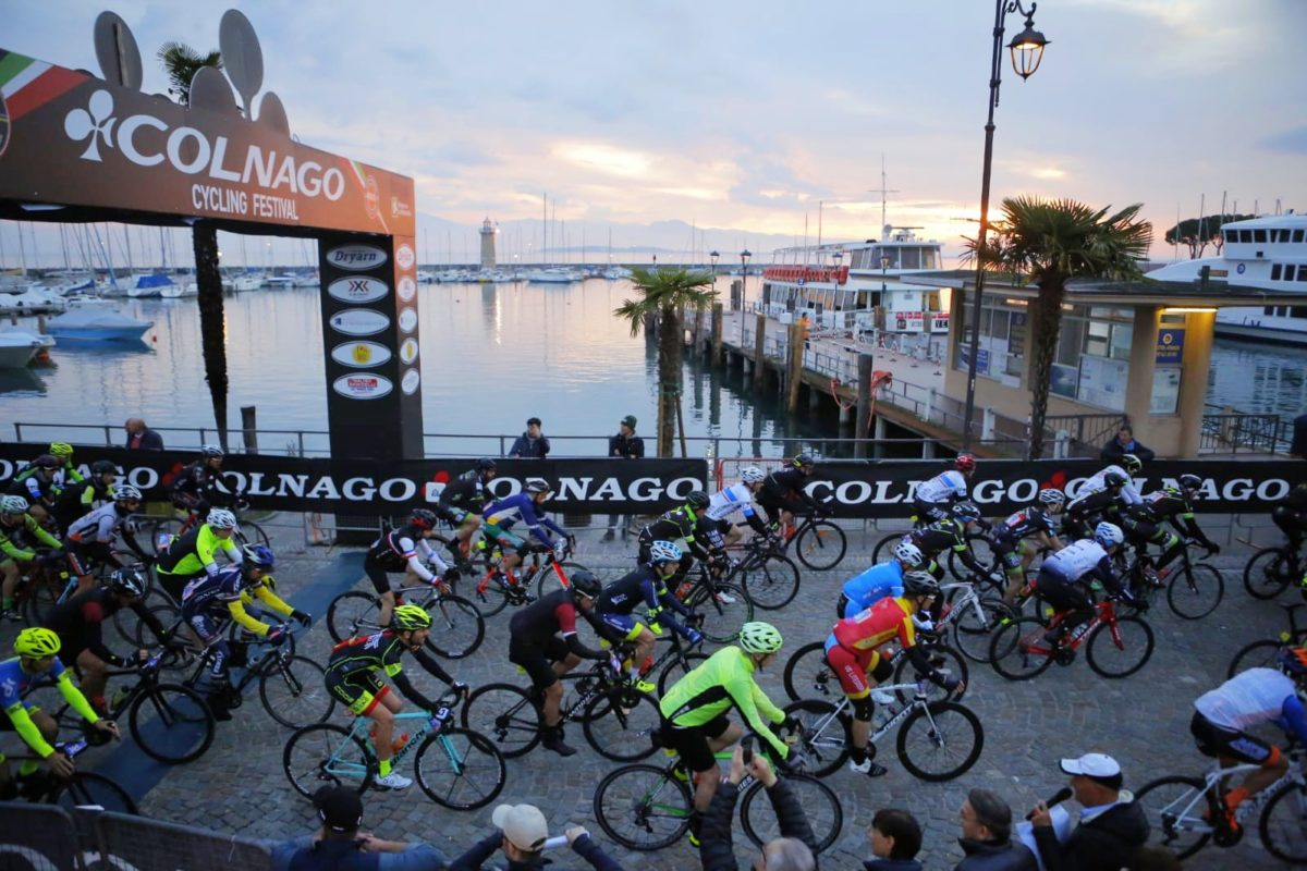 COLNAGO CYCLING FESTIVAL, THE SUCCESS OF GARDA LAKE