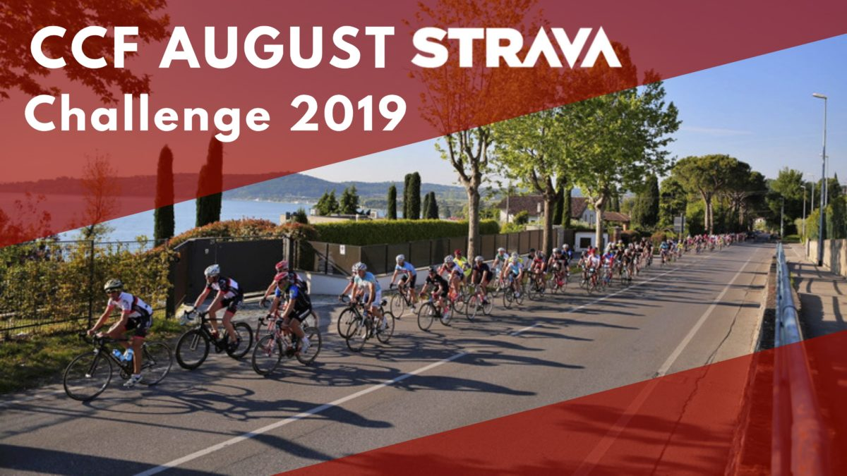 CCF August Strava Challenge – The Challenge restarts and it doubles