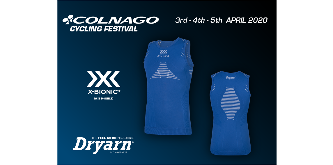 X-BIONIC® e DRYARN®: COLNAGO CF2020 WEARS THE INNOVATION!
