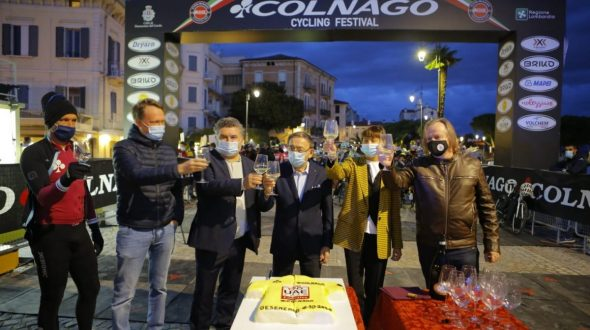 COLNAGO CYCLING FESTIVAL 2020 RESTART AND LOTS OF EMOTIONS IN COMPLETE SAFETY!