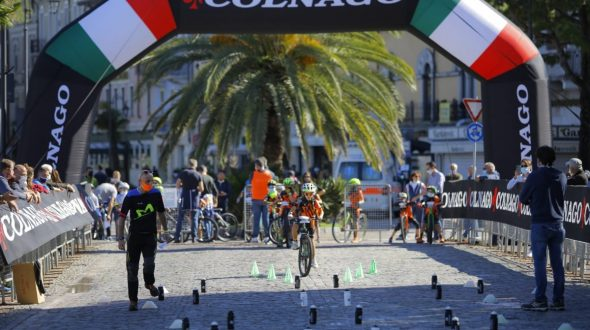 COLNAGO CYCLING FESTIVAL 2020 RE-STARTING AND LOT OF FUN  FOR THE JUNIOR BIKE