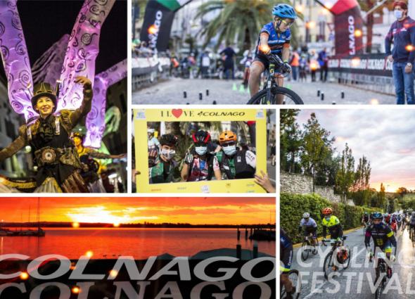 COLNAGO CYCLING FESTIVAL 2020 IL SUCCESSO DI UN EVENTO IN SICUREZZA!