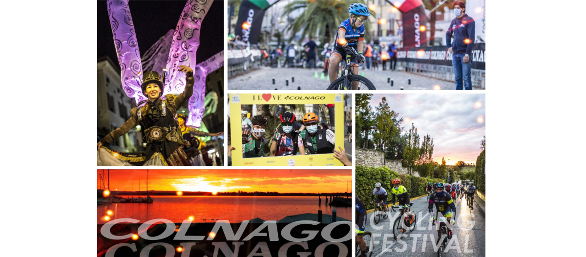 COLNAGO CYCLING FESTIVAL 2020 THE SUCCESS OF THIS EVENT IN COMPLETE SAFETY!