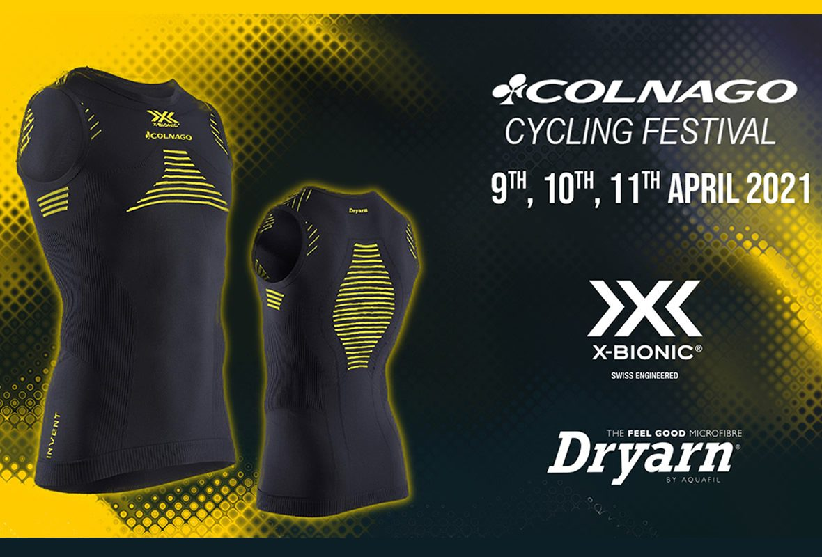 RACE PACK 2021: AN EXCLUSIVE SHIRT BRANDED X-BIONIC® AND DRYARN®!