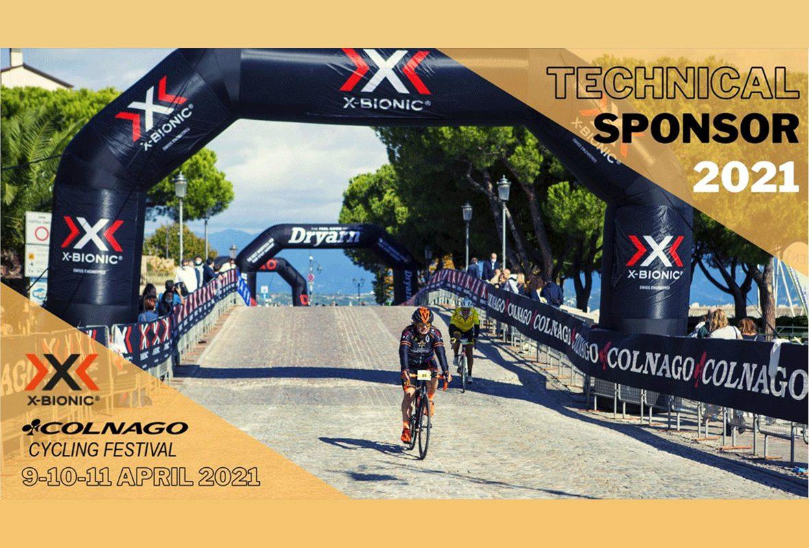 X-BIONIC® AL FIANCO DEL COLNAGO CYCLING FESTIVAL 2021!