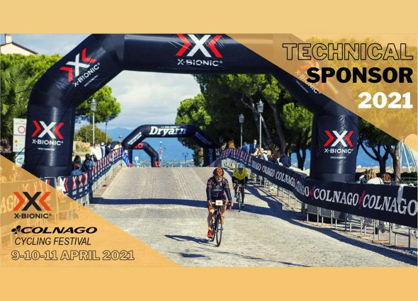 X-BIONIC® SIDE BY SIDE WITH COLNAGO CYCLING FESTIVAL 2021!