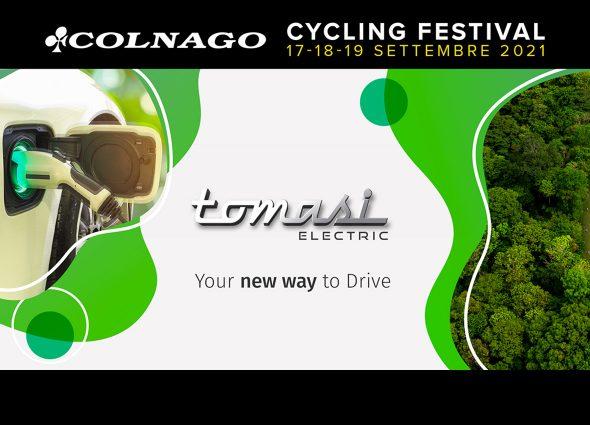 TOMASI AUTO SPONSOR UFFICIALE DEL COLNAGO CYCLING FESTIVAL